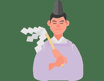 祈祷(出雲大社)